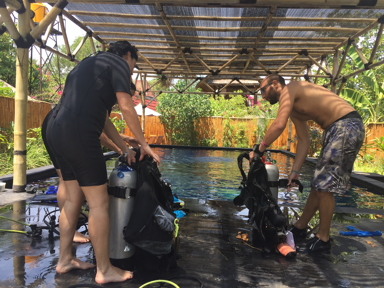 Manta Dive initiation
