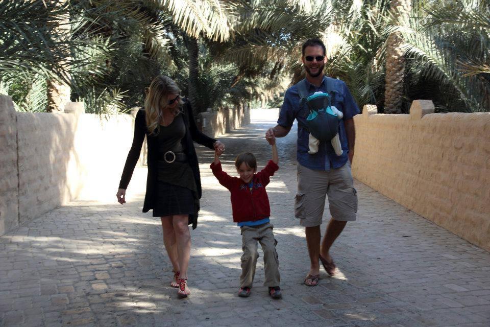 Une famille québécoise aux Émirats Arabes Unis… leur histoire