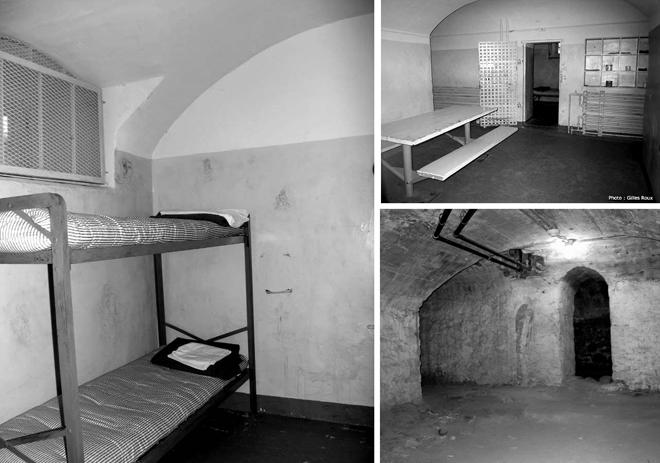 Cellule prison de Trois-Rivières