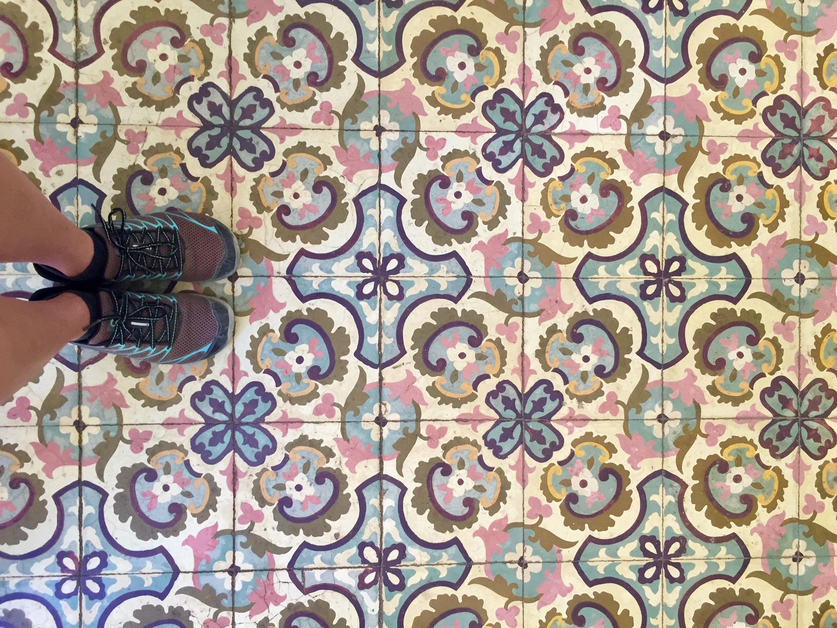 El piso de El Cafe