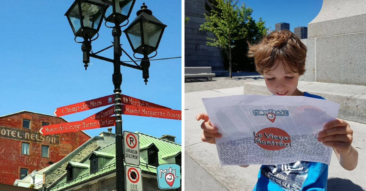 Découvrir le Vieux-Montréal avec des yeux d'enfant