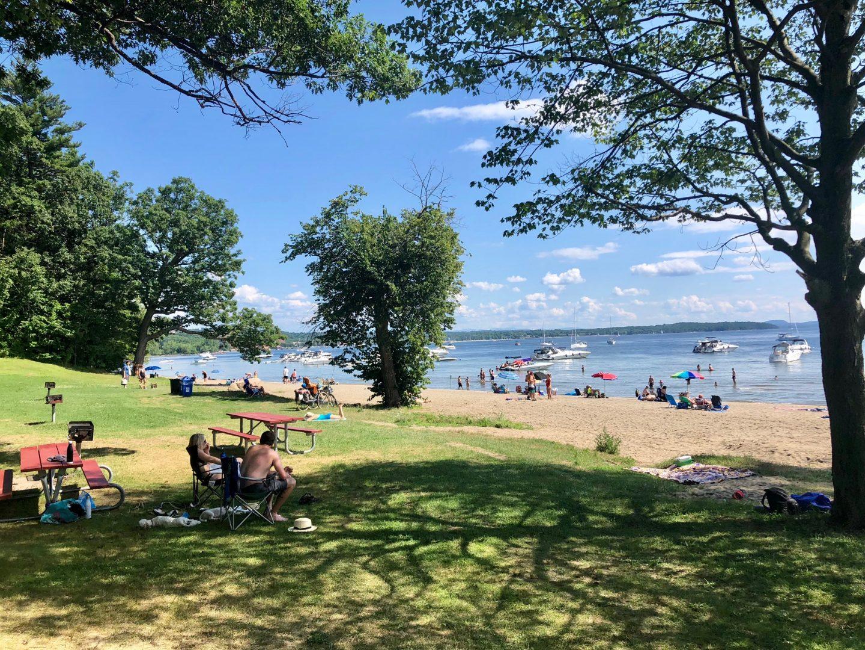 Escapade à Burlington au Vermont en été
