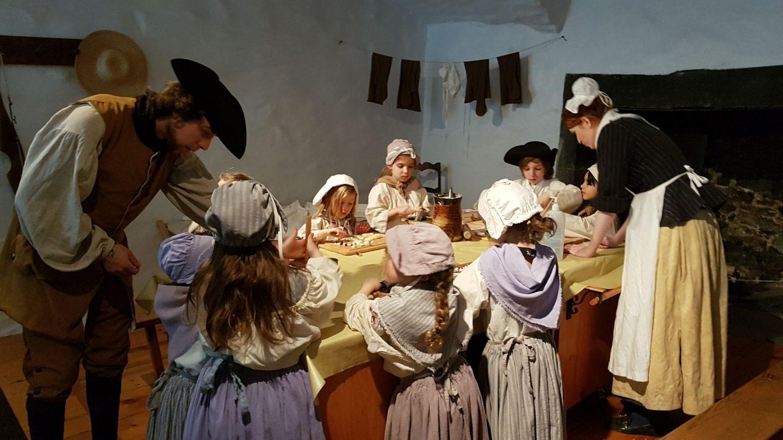 Une fête d'enfant réussie où on vit comme à l'époque des rois et des reines!