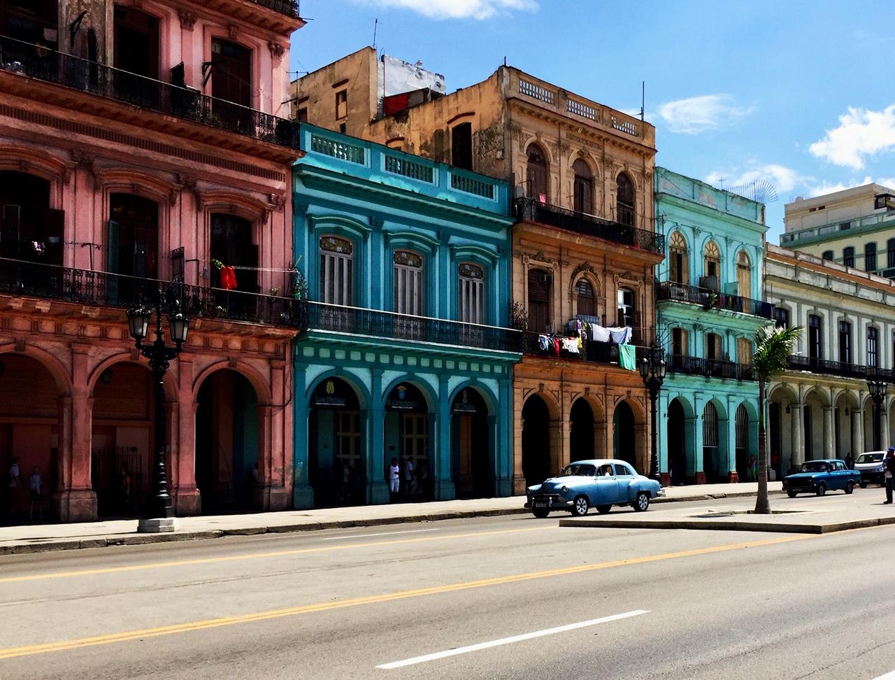 À La Havane, on retrouve tous les styles d'architecture.