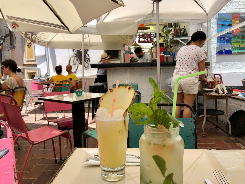 cocktails élaborés du El Del Frente