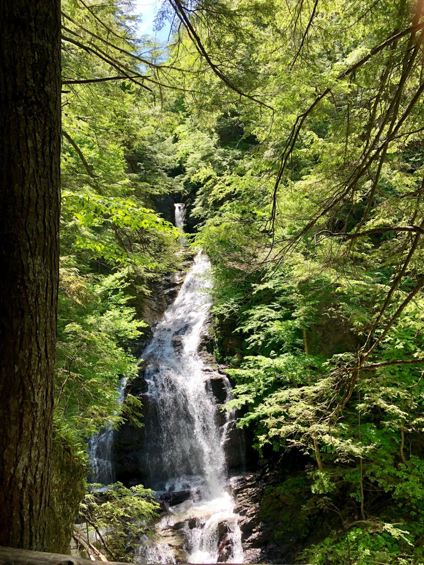 Chutes de Moss Glen Falls