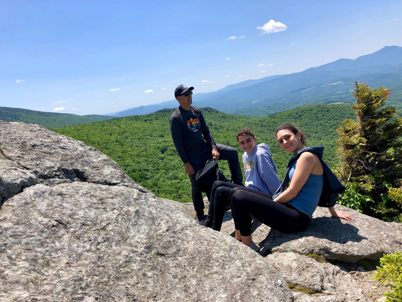 Le mont Stowe Pinnacle