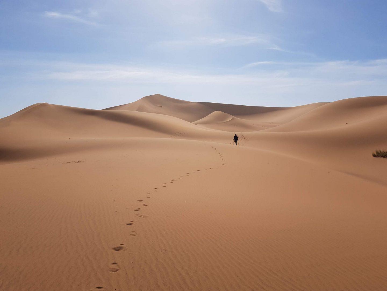 Trek dans le désert Marocain : au rythme des nomades