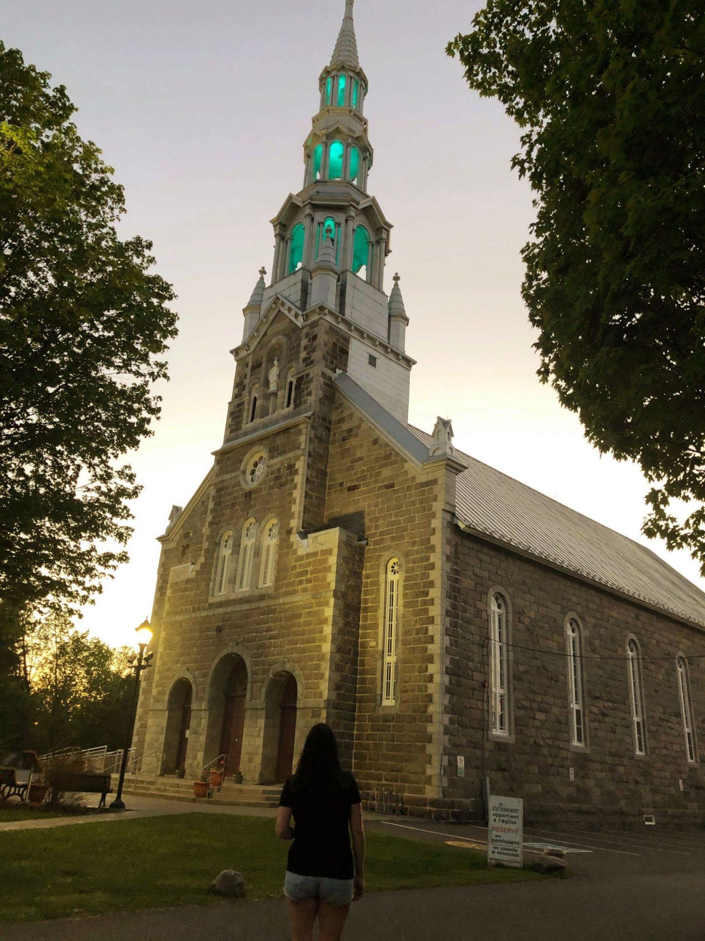 L'église de Saint-François-Xavier